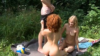 Hot-tempered young russian Valeria enjoys being drilled