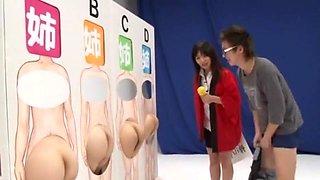 Amazing Japanese girl Azumi Mizushima in Exotic DP/Futa-ana, Voyeur JAV clip