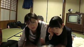 Petite Japanese Loli Teens With Small Tits In School Uniform Fucked By Fat Men