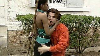 Mickaela - gardenner anal fuck(vintage)