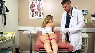 Chick Jillian Janson Gets Pleasured By Doctor