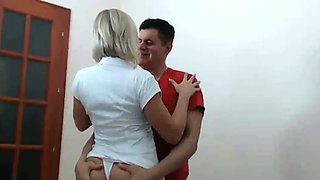 Creampie is Good For You Nurse with Big Tits and Ass