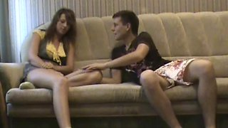 Kamila Gets Her Wet Pussy Fucked In All Four On A Couch