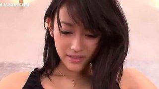 Exotic Japanese slut Sho Nishino in Fabulous Blowjob, Swallow JAV scene
