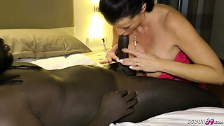 GERMAN MOTHER BOOK BIG DICK BLACK CALLBOY TO FUCK HER