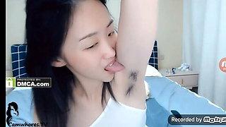 Little Princess – hairy armpit licking 2
