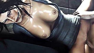 Lara craft animation 3d