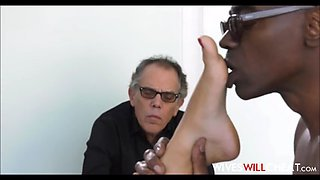 Petite latina cheating wife caught with husbands black boss
