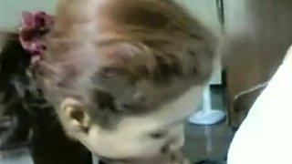 Fat Cock Blowjob and Surprise Cumshot- Hidden Cam