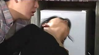 Hardcore action with a cute Japanese MILF