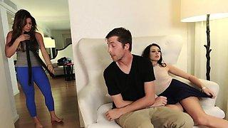 Dad fucks companion' partner's daughter massage Sharing Is C