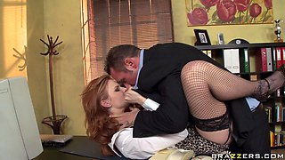Hot Babe Gets Her Huge Titties Slapped