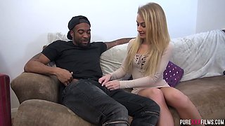 British wife Carmel Anderson is cheating on her husband with one black dude