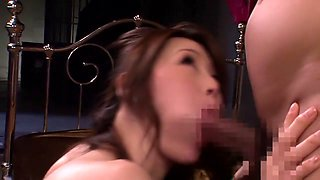 Incredible Japanese whore in Fabulous JAV censored Swallow, Hairy movie