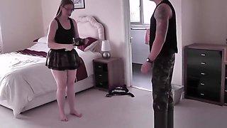Britsh housewife blows luke hardy