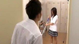 Horny Japanese whore Mami Asakura in Crazy Couple, Small Tits JAV movie