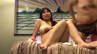 Busty Japanese preggo gets fucked silly