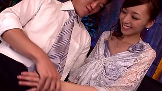 Incredible Japanese chick Aino Kishi in Fabulous JAV censored Swallow, Small Tits movie