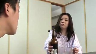 Japanese Mama Swallow and Fuck xLx