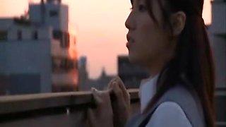 Japanese cheating big tits fucked hard