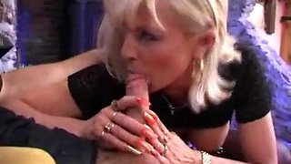 I am Pierced granny with pussy piercings Rough anal