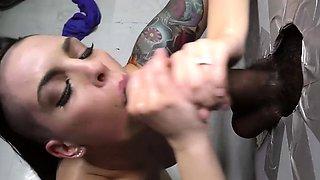 Rachael Madori does anal with BBC - Gloryhole