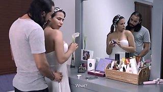 Latin couple enter &#039the lifestyle&#039