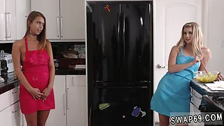 Amateur teen dancing bathroom and blonde country The Treat Trade Pt 2