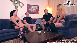german homemade couple swinger orgy with amateur milfs