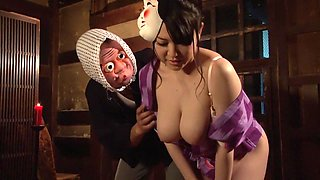 Fabulous Japanese model Aki Nagase in Horny big tits, compilation JAV video
