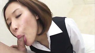 Office girl Emi Orihara is given a promotion after she
