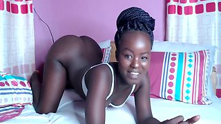 Cute African Babe With Tight Pussy