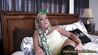 St Patrick's Day Mommy/Son Taboo Fuck