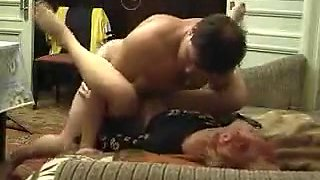 Horny Mature Couple Sex At Home