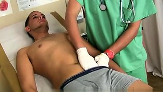 Nude male medical exam s gay xxx Diego backed his caboose