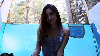 teen brunette masturbation and sucking pov
