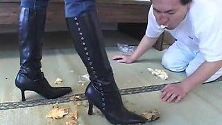 Horny JAV censored porn scene with best japanese whores