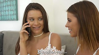 Passion-HD 1000th scene Step sisters orgy ft Lana Rhoades and Adriana Chechik