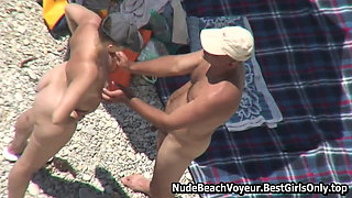 Couples On Beach Perform Doggy Style Collection