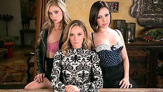 Jenna Sativa & Mona Wales & Kali Roses in The Family Business - GirlsWay