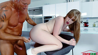 Dolly Leigh in The Sitter Is Stuck In The SInk