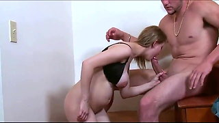 brother with Monster Cock Fucked My Busty Girlfriend
