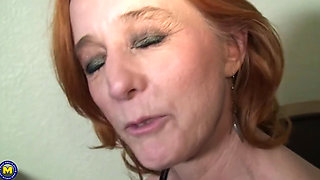 Redheaded Mature MILF's IR BJ after sex stories