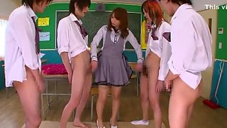 Amazing Japanese slut in Horny Cunnilingus, Cougar JAV clip