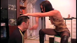 Turkey Mistress dominate men