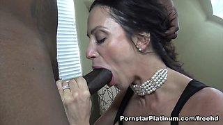 Ariella Ferrera in BBC Fill Up - PornstarPlatinum