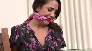Jewell Secretary bound and gagged