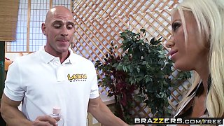 Dirty Masseur - Lolly Ink Johnny Sins - Retail Therapy - Brazzers