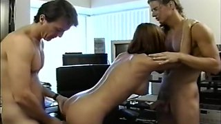 Hot Girl Next Door in Dirty Threesome