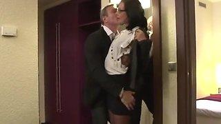 secretary with boss hotel